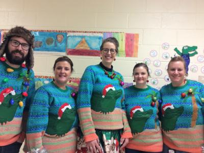 5th Grade Ugly Sweater Day