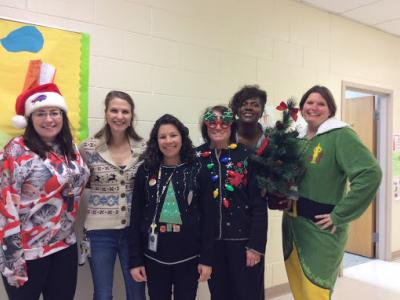 4th Grade Ugly Sweater Day