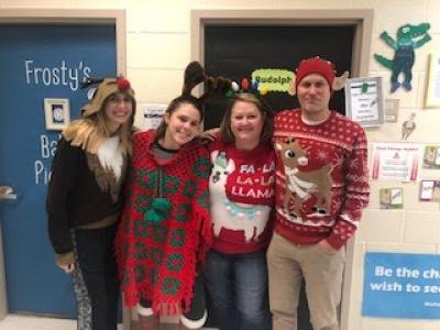 3rd Grade Ugly Sweater Day