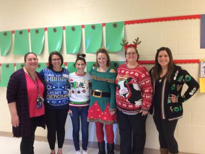 2nd Grade Ugly Sweater Day