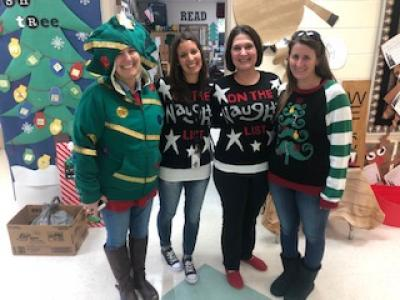 Kindergarten Ugly Sweater Day
